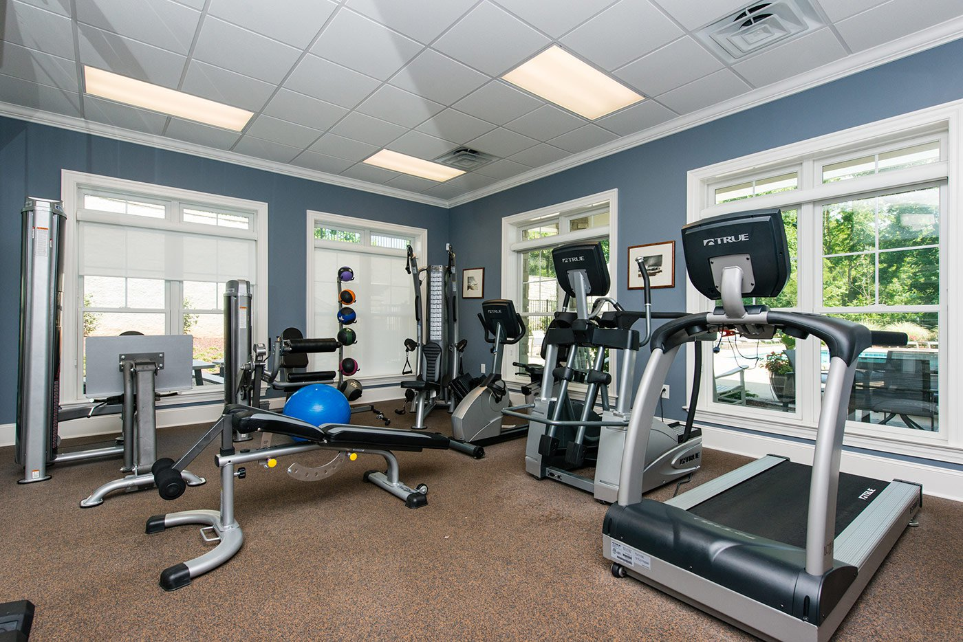 Gym at the Hamptons